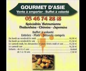Restaurant  gourmet d