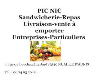 Pic-nic restauration rapide