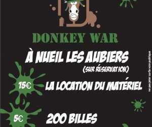 Paintball donkey war