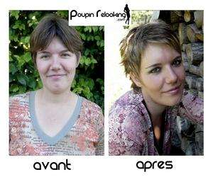 Poupin relooking - relooking coiffure photos la rochell