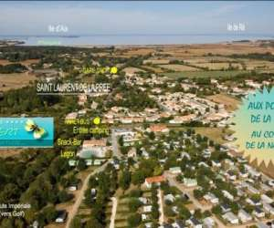 Camping le pr� vert **** fouras, ses plages, rochefort