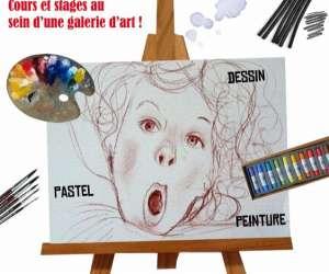 Cours de dessin etudiants ado enfants