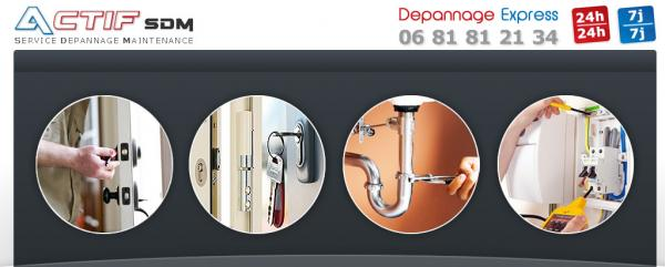 actif sdm service d pannage maintenance la rochelle. Black Bedroom Furniture Sets. Home Design Ideas