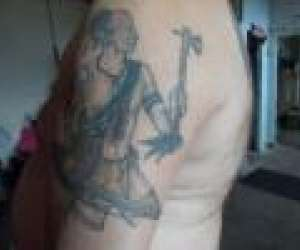 Smooth deep tattoo