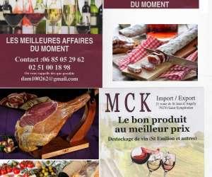 Mck import / export