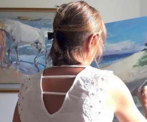 Hélène collignon artiste peintre