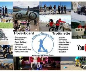 Azur gyroboard trottinette
