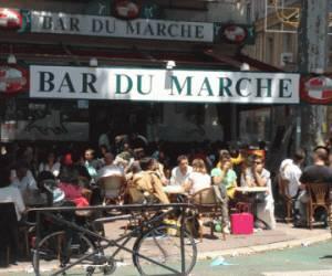 Bar du marché-palais de la bie