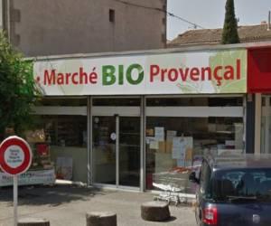 Marché bio provençal