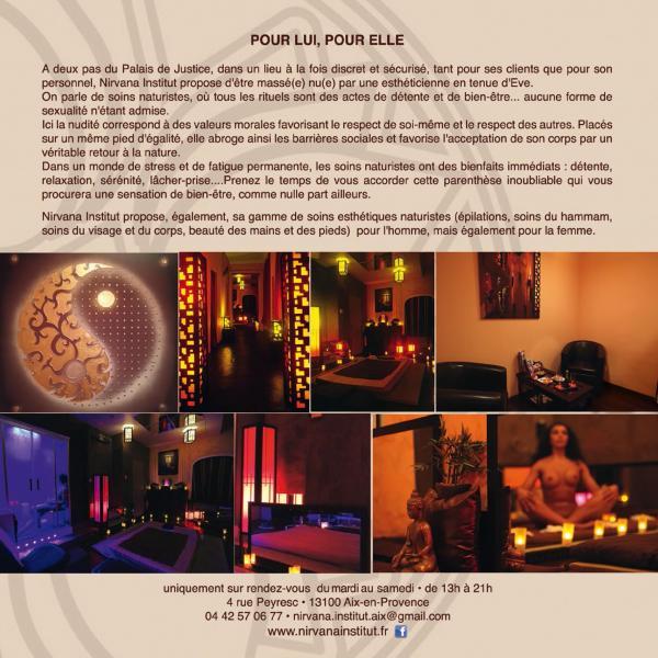 institut massage naturiste Aix-en-Provence