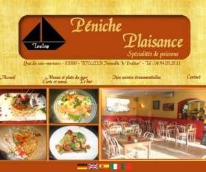 Restaurant peniche plaisance