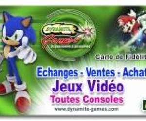 dynamite games - magasin jeux video draguignan