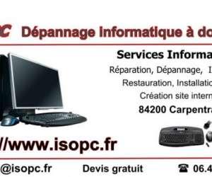 Isopc dépannage informatique