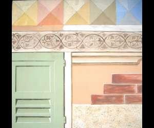 Atelier de peinture décorative trompe l