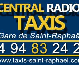 Central radio taxis gare de saint raphael