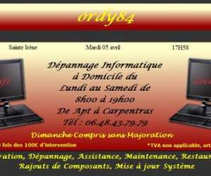 D�pannage r�paration informatique