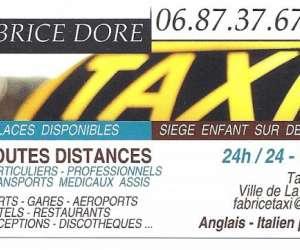 Taxi fabrice dore