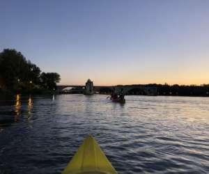 Balade en kayak sur le rhône