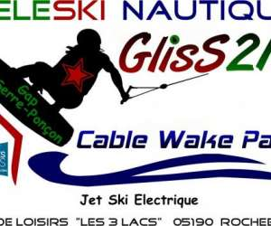 Gliss21 cablewakepark gap serre-ponçon