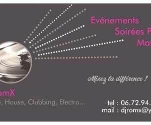 Romx events // dj romx - dj et evenementiel