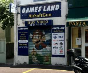 Games land airsoft gun - jeux video