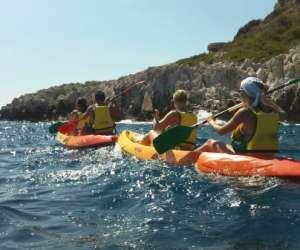 Azur kayak de mer