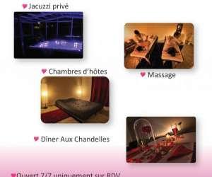 Bien etre , massage , chambre d