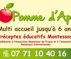 multi- accueil pomme d
