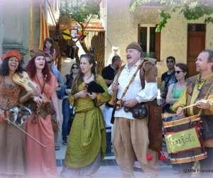 Les djinjols -spectacle musical médiéval  et  pourtour