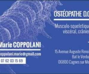 Coppolani  marie  osteopathe