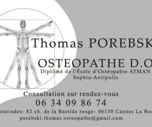 Porebski thomas ostéopathe