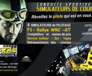 Racing zone simulateur de pilotage automobile