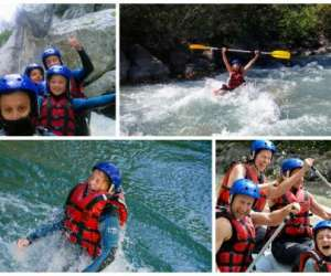 Kayak rafting/ terra incognita rafting