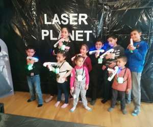 Laser planet nice