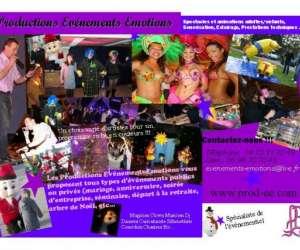Productions evenements emotions
