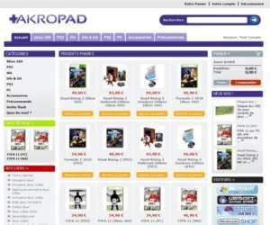 Akropad games shop