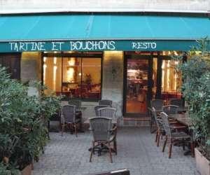 Restaurant atypique, tartine et bouchons
