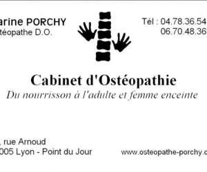 Osteopathe lyon marine porchy