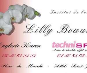 Institut de beauté lilly beauté