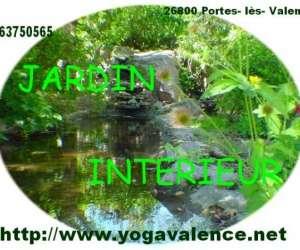 Yogavalence jardin interieur