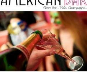 American bar show girl, pub, champagne…