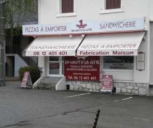 Pizza sandwicherie en haut dla cote