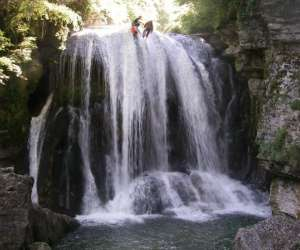 Les intra-terrestres ardeche-canyoning