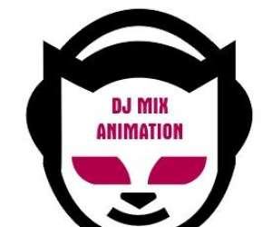 Dj mix animation