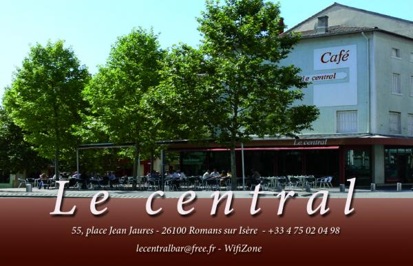 Bar le central romans sur isere 26100 t l phone horaires et avis - Bar le central ...