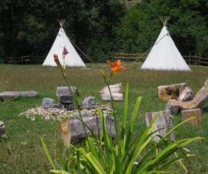 Tipi camp -  domaine du vierre