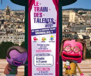 Le train des talents - finale regionale de grenoble