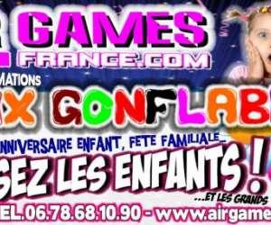 Air games france jeux gonflables drome ardeche