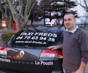 Taxi freds le pouzin pranles