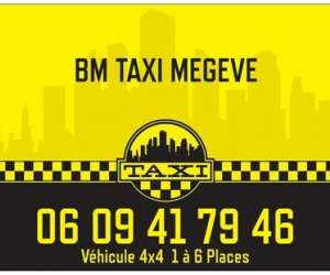 Bm taxi megeve